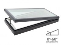 VELUX 1275 X 1275MM MANUAL FLAT ROOF SKYLIGHT image