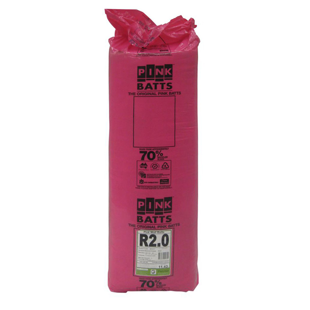 Pink Batts Wall Insulation Batts R2 0 1160x430x90 Just