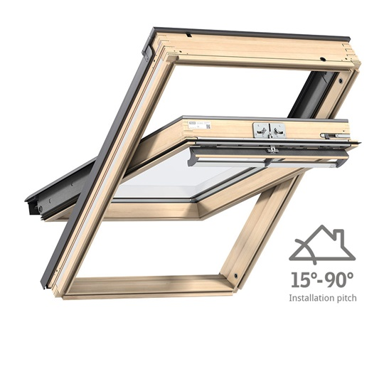 Velux skylight ggl ck04 just rite store for Velux skylight control rod