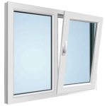 SetHeight150 Tilt Turn Window