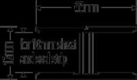 1 Part H Joiner Aluminium 65mm Just Rite Store
