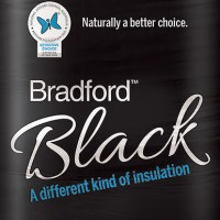 Bradford Black ceiling batts - R4.1 - 430 x 1160 X 205mm  image