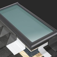 VELUX Flashing For C01 / C04 / C06 / C08 To Suite Slate / Shingle Roof Types  image