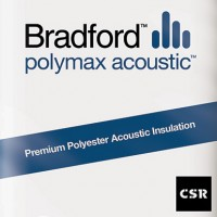 Polyester Bradford Polymax  Acoustic Batts R2.0  1160x430x90 image