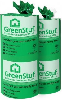 Polyester Greenstuf (Autex) R2.5 580mm Wall Batts  90mmx1160mm image