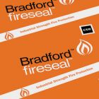 Bradford Rockwool Fireseal Curtain Wall Batts 1200x120x50 image