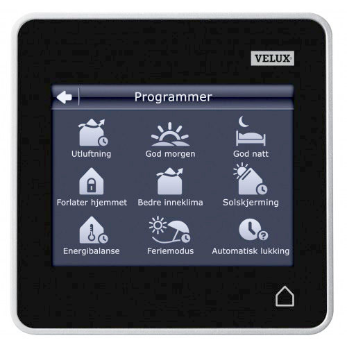 Klr 200 velux touchpad remote control just rite store for Remote control skylights