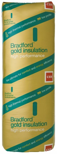 Bradford Insulation Batts Hi-Performance Gold Wall  R2.0 - 1160x570x75 image