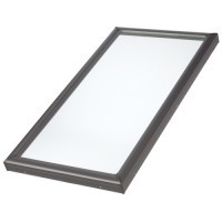 VELUX 970 x 970mm Fixed Flat Roof Skylight image