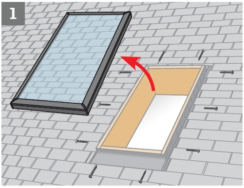 Fcm 2234 solar blockout blind dsc 2234 just rite store for Velux solar blinds installation instructions